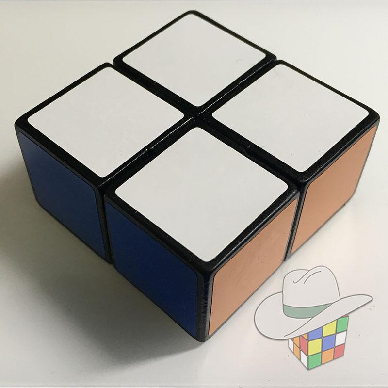 Rubik's cube themed fidget spinner (3D printed)